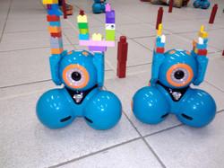 Robô Dash em ação