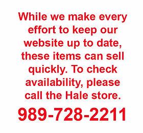 Bernard Building Center Clearance - Hale Store
