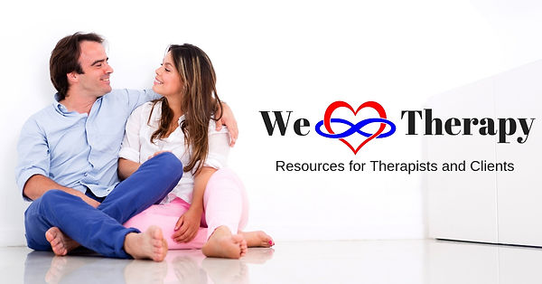 We Heart Therapy Podcast Logo & link to youtube channel