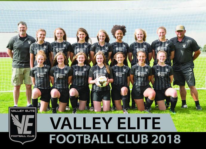 Spring 2018 - U16 Girls Team