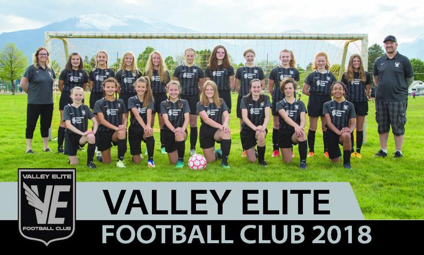 Spring 2018 - U14 Girls Team