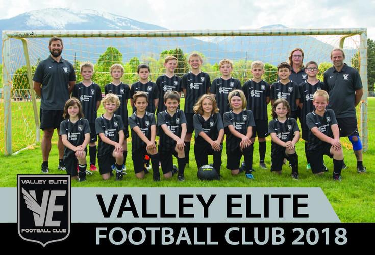 Spring 2018 - Academy Boys Team