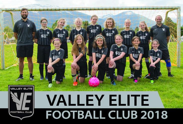 Spring 2018 - Academy Girls Team