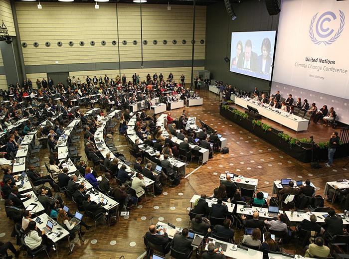 Foto: IISD/ENB - Negociação do clima (Bonn, Alemanha) / Ref. [F25]