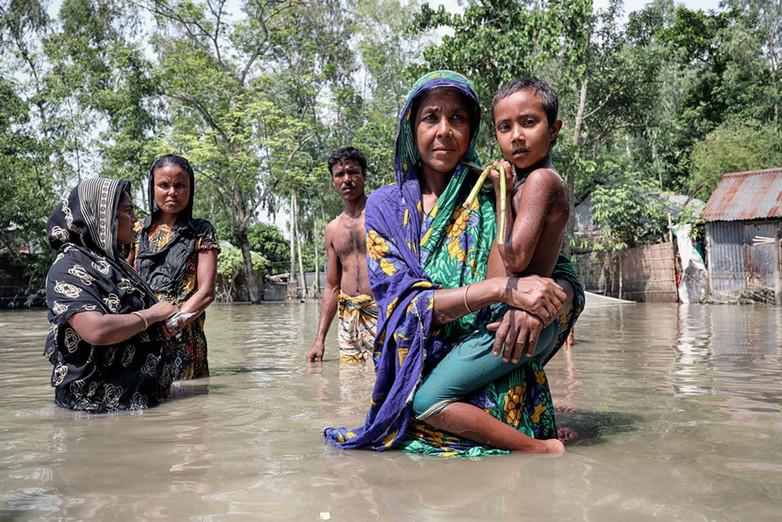 Foto: Mohammad Rakibul Hasan - Inundação em Bangladesh / Ref. [F2.B]