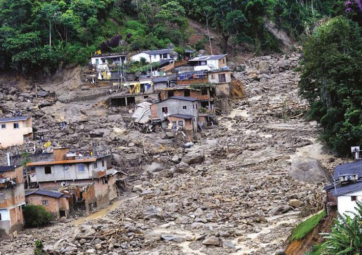 Foto de Ismar Ingber - Deslizamentos de terra em Teresópolis / Ref. [F4]