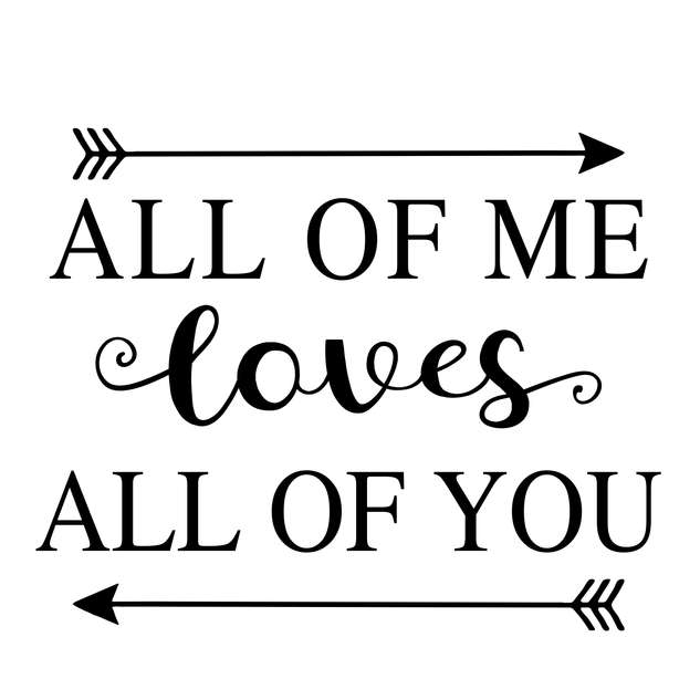 Pallet40_All of me Loves All of you