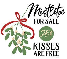 sqr47_mistletoe for sale kisses free