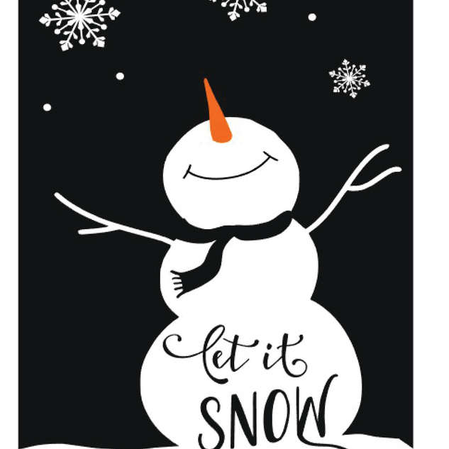 Pallet90_Snowman let it snow