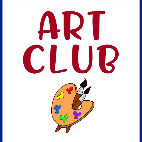 ART CLUB {Wednesdays 9am-11:30am}