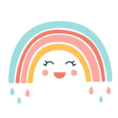 TAKE & MAKE Kit {raining rainbow}