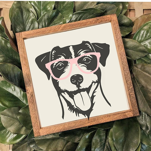 TAKE & MAKE {3d jack russell}