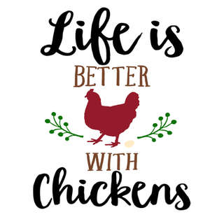 Pallet53_Life is Better with Chickens