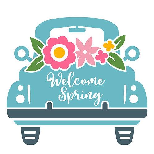 TAKE & MAKE Kit {spring car}