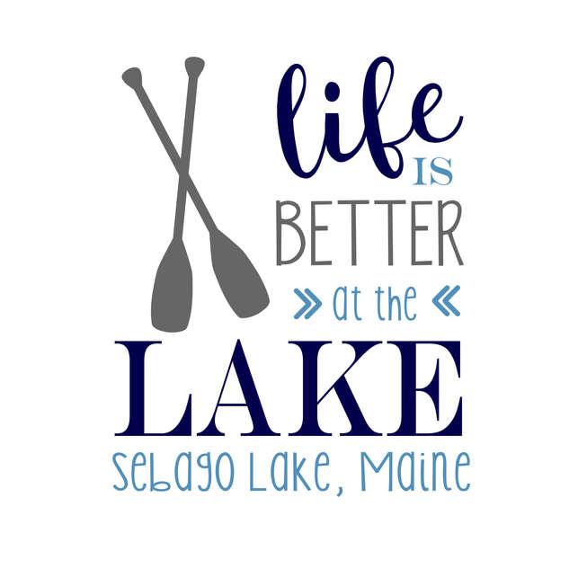 Pallet15_Life is Better Lake Oar