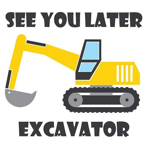 TAKE & MAKE Kit {excavator}