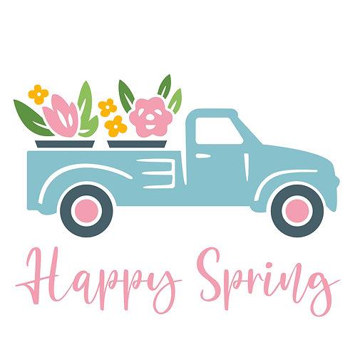 TAKE & MAKE Kit {spring truck}
