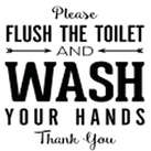 sqr21_flush the toilet wash your hands