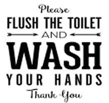 sqr21_flush the toilet wash your hands