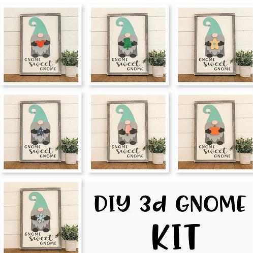 TAKE & MAKE {3d Interchangeable Gnome}