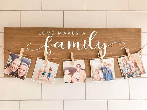 TAKE & MAKE Kit {love makes a family}
