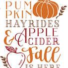 Pallet70_pumpkins hayrides cider