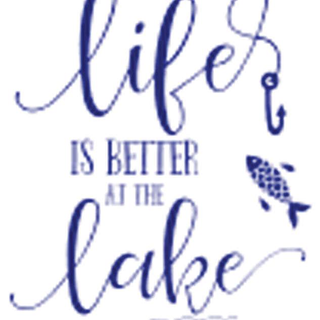 Pallet12_Life is Better Lake Fishing Pole