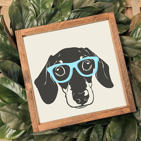 TAKE & MAKE {3d doxie}