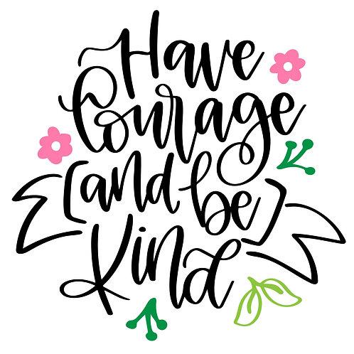 TAKE & MAKE Kit {have courage}