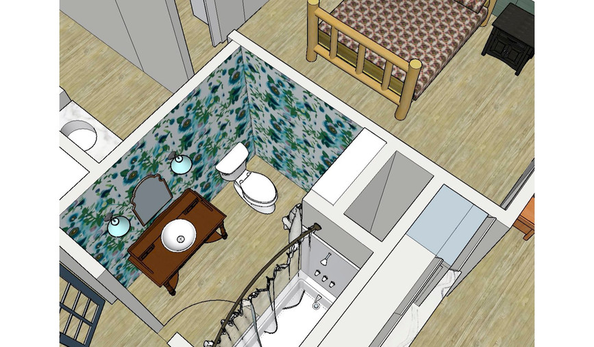 Guest Bathroom Imagined