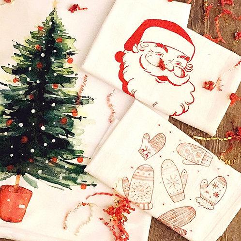 Festive & Merry Christmas Decor Box