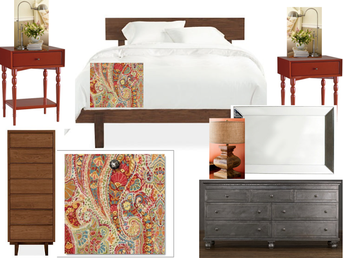 Bedroom E-design
