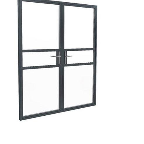 Smarts Aluminium Crittall Double Door