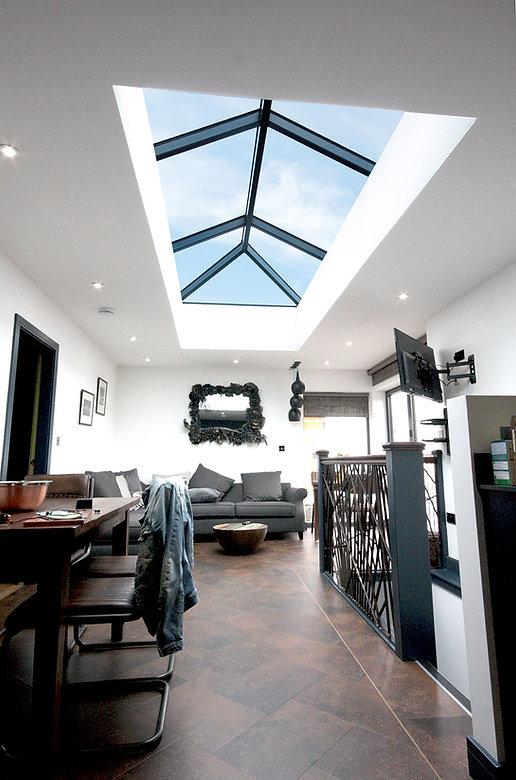 Korniche aluminium roof lantern internal