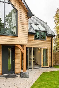 Contemporary home aluminium windows and