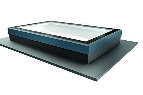 Flat Roof Light-Aluminium-No Upstand
