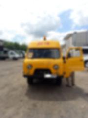 Установка проблесковых маячков нашкльные автобусы