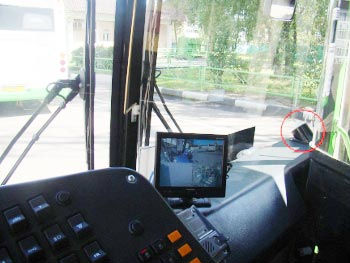 Дисплей водителя