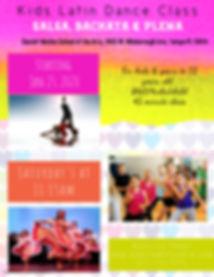 Copy of Summer Dance Workshop for Kids -