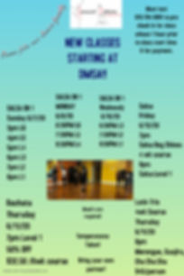New Class Flyer - Made with PosterMyWall