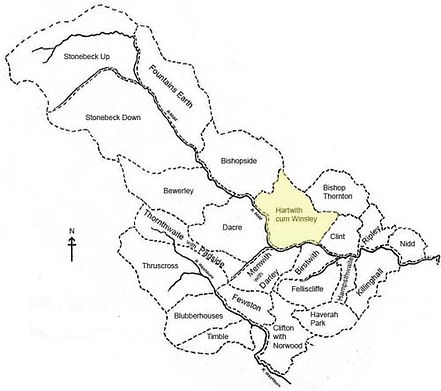 Map of Nidderdale