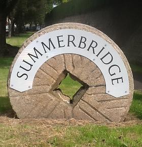 Summerbridge millstone