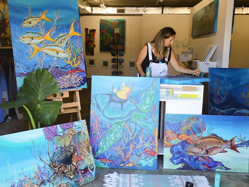 Jessica Ann Paints for a More Colorful Reef System