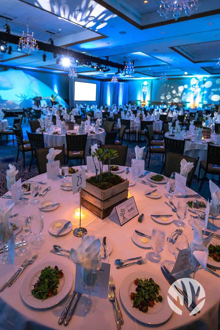 Raise the Reef 2019 Ballroom & platesA.J