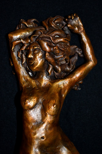 """""""Reclining Figure"""" Bronze Sculpture"""