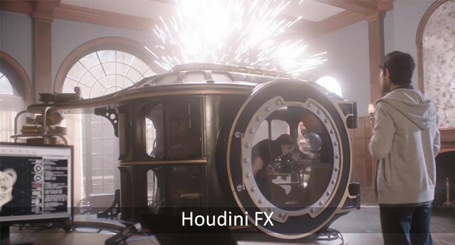 Houdini FX Reel