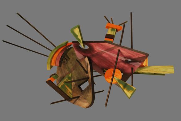 """Kandinsky in Three Dimensions"""