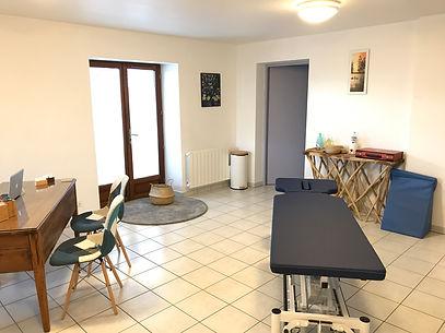 Cabinet d'ostéopathie ubaye-serre-ponçon/le lautaret 04/Alexia montagne/Jules guardiola/salle de soin