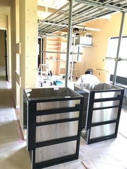 キッチン設置工事