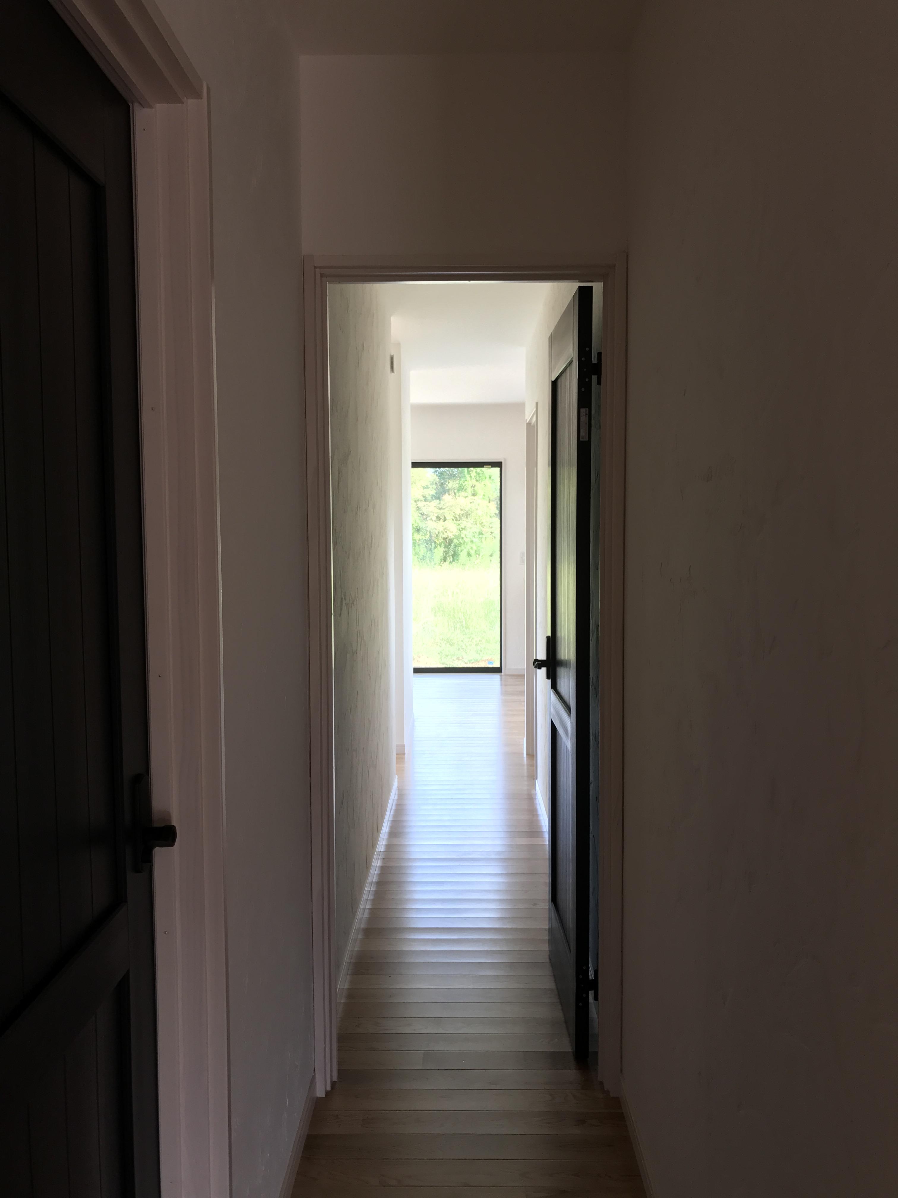 廊下 → 個室